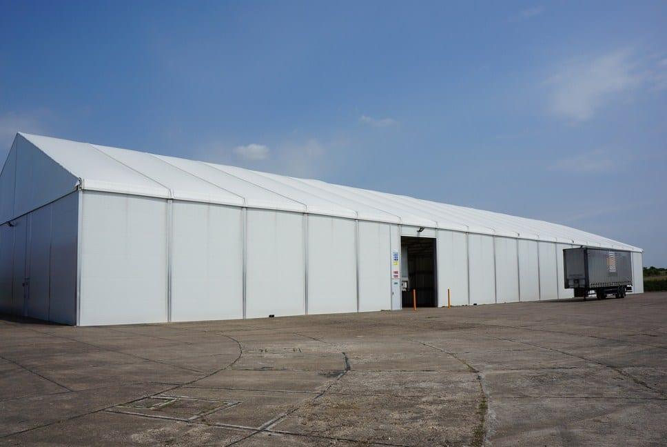 Modular Building Logistics - Industrial Building _ HTS tentiQ Case Study