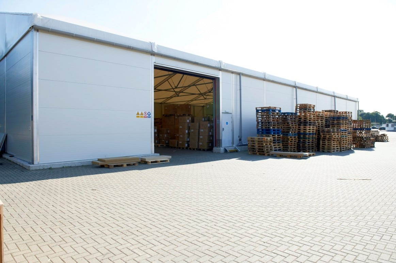 Warehouse Storage -Dockside - HTS tentiQ Case Study