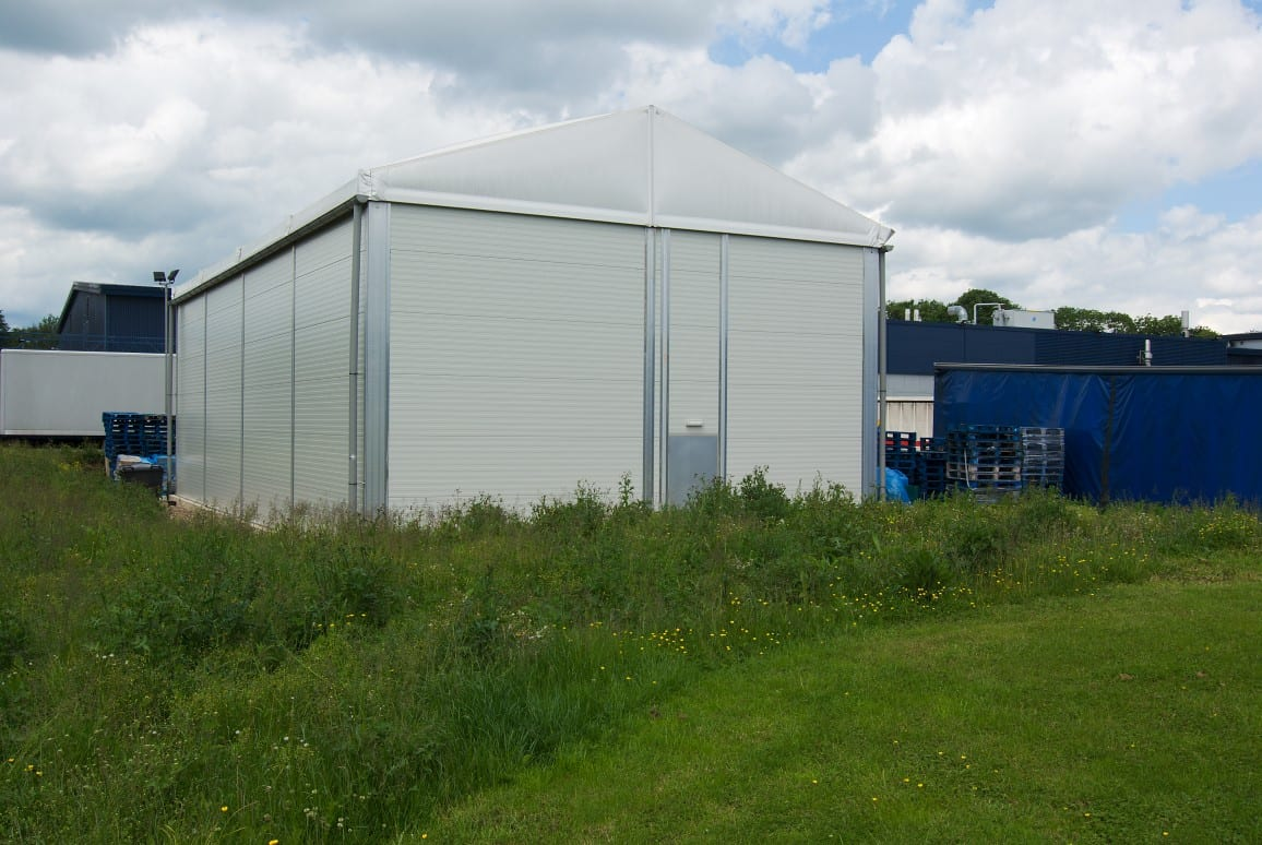 Storage Warehouse Industrial Building HTS tentiQ Case Study