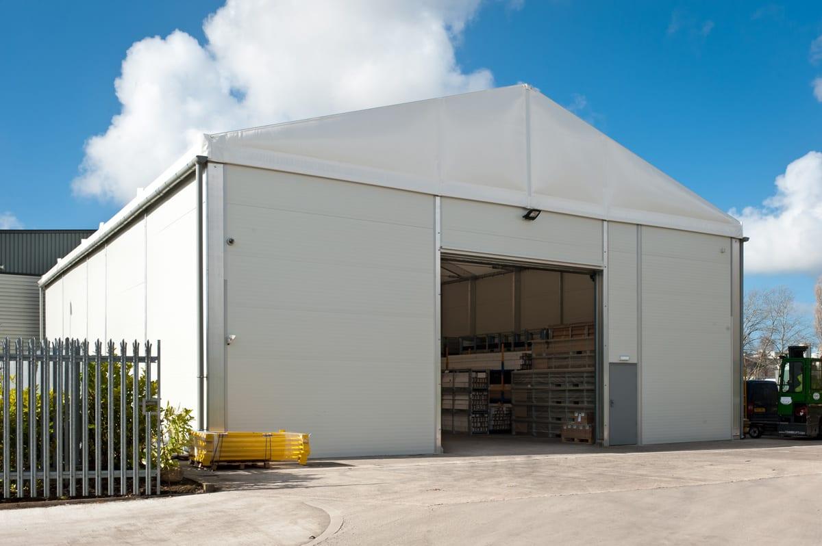 A Lightweight industrial storage building