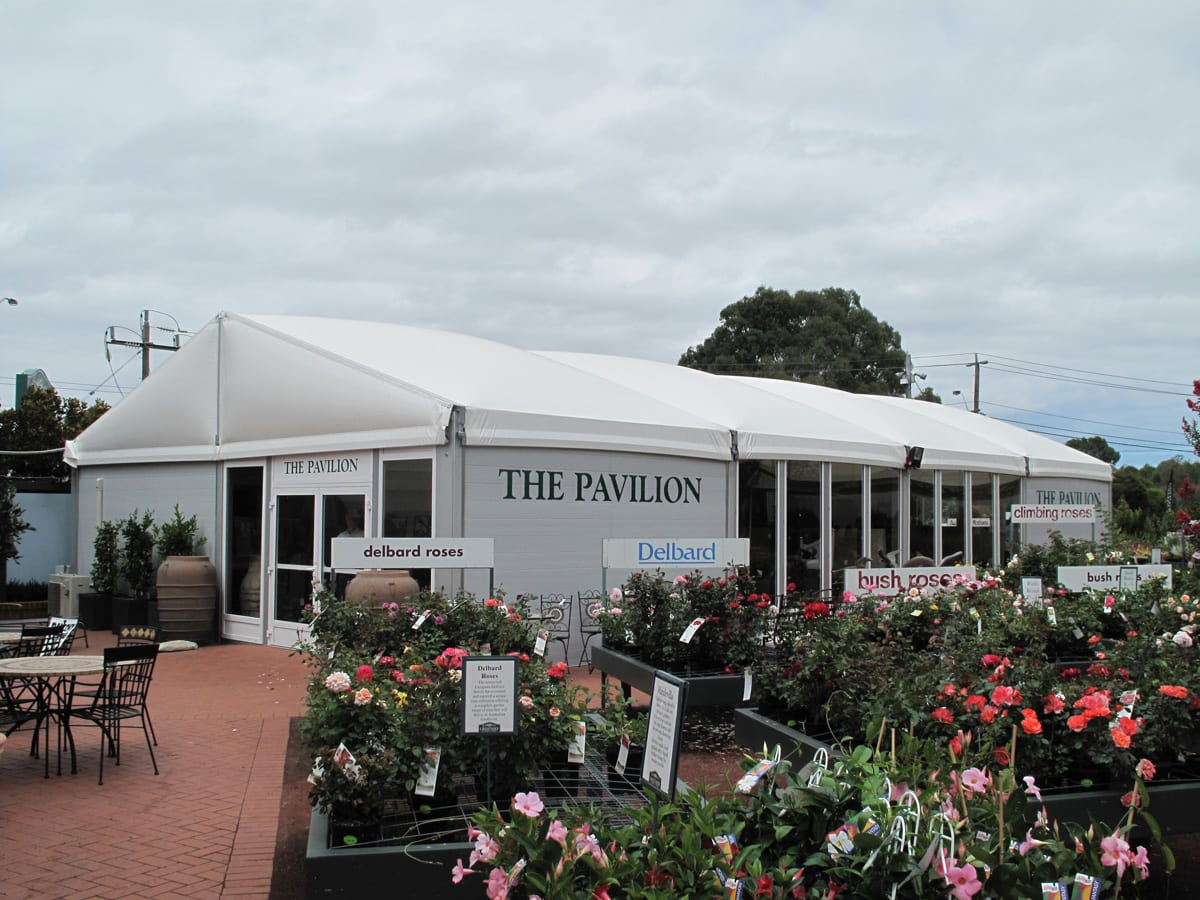 A Commercial retail building for a garden centre
