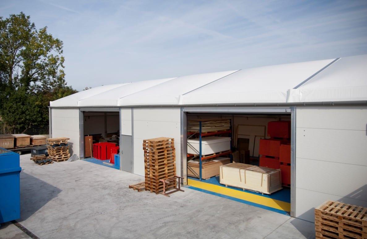 Modular Industrial Building HTS tentiQ Case Study