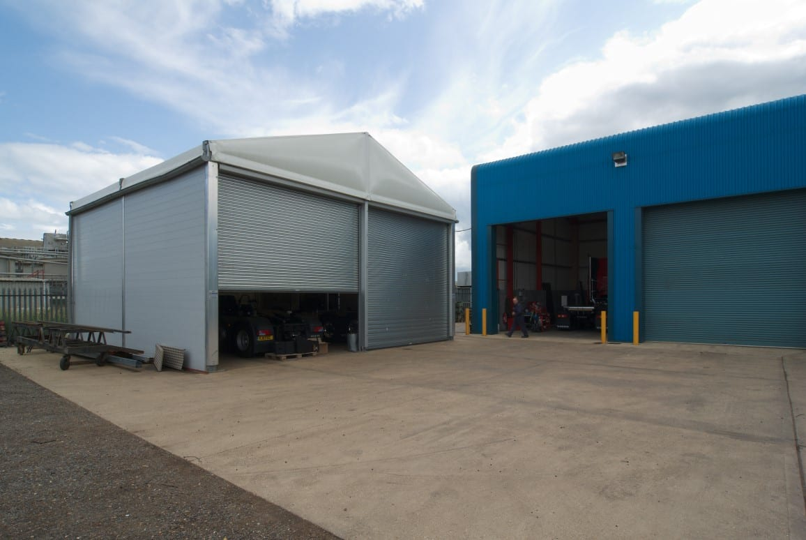 temporary shed Commercial Vehicle Manufacturer  case study