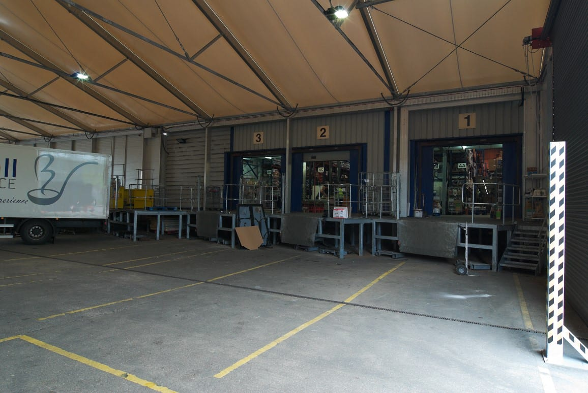 Temporary warehouse HTS tentiQ case study