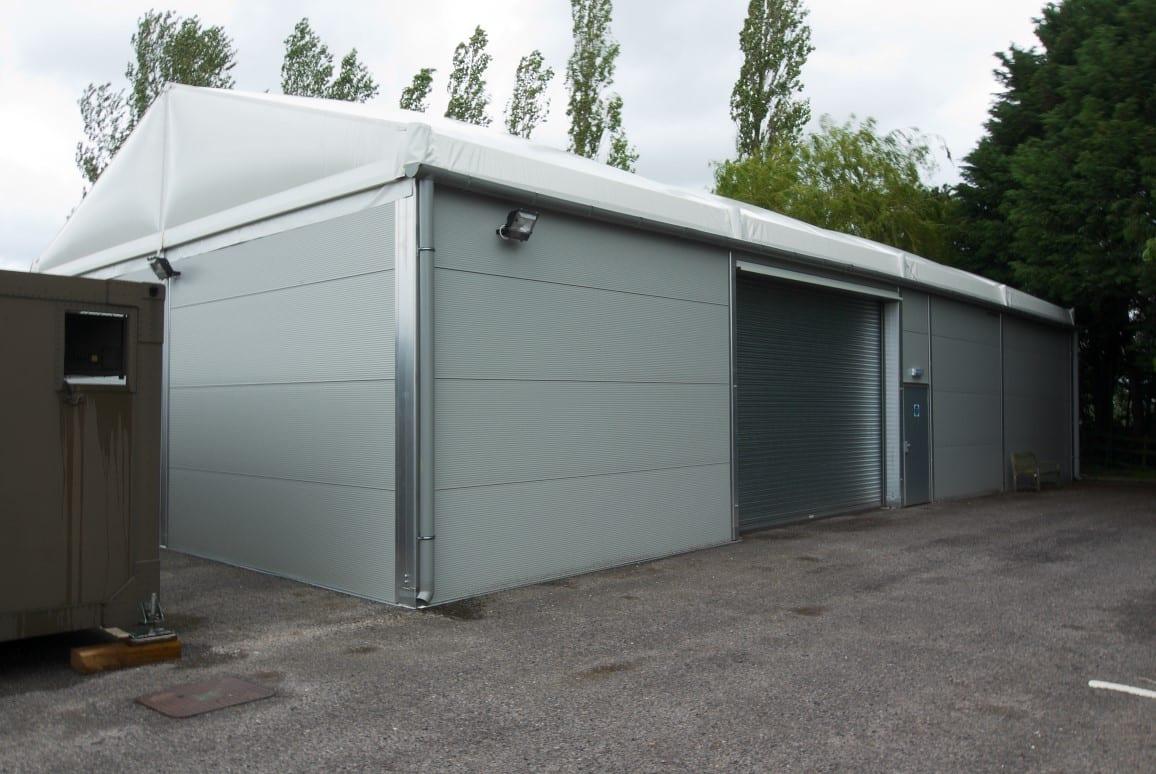 relocatable storage building HTS tentiQ case study