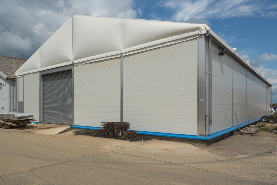lightweight modular warehouse case study