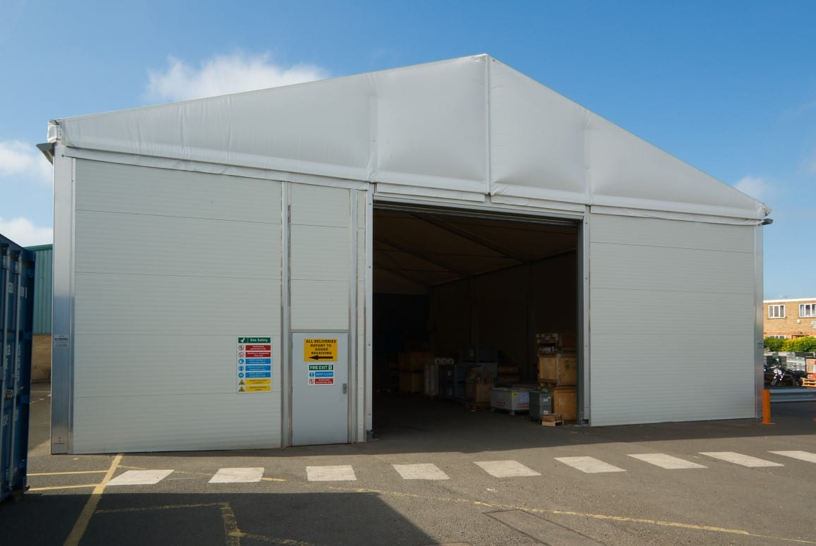 Temporary Warehouse Case Study Airfoil